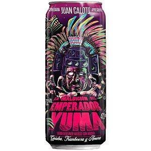Cerveja Juan Caloto La Maldicíon Del Emperador Yuma Gran Berliner Weisse C/ Goiaba, Framboesa e Amora Lata - 473ml