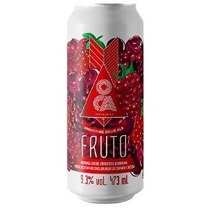 Cerveja Oca Fruto Frutas Vermelhas Smoothie Sour Ale Lata - 473ml