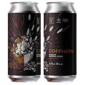 Cerveja Ux Brew CoffMaru Russian Imperial Stout C/ Café, Cupuaçu e Cumaru Lata - 473ml