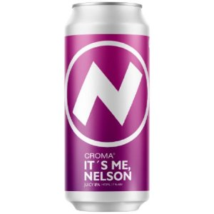 Cerveja Croma It's Me Nelson Juicy IPA Lata - 473ml
