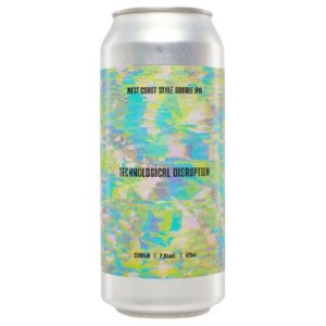 Cerveja Koala San Brew Technological Disruption KSB-08 West Coast Double IPA Lata - 473ml