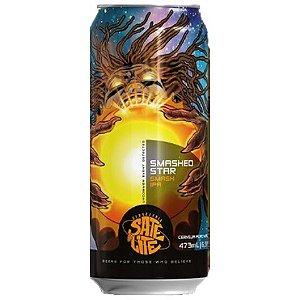 Cerveja Satélite Smashed Star Smash IPA Lata - 473ml