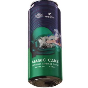 Cerveja HopMundi + MinduBier Magic Cake Russian Imperial Stout C/ Terpenos Lata - 473ml