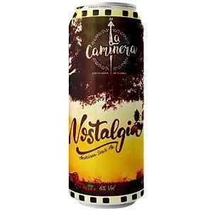 Cerveja La Caminera Nostalgia American Sour Ale C/ Pitanga Lata - 473ml