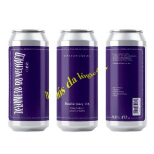 Cerveja Devaneio do Velhaco Nós da Lógica Double Juicy IPA Lata - 473ml