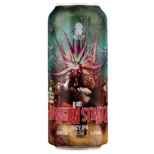 Cerveja Under Tap O Rei Dragon Strata Juicy IPA Lata - 473ml