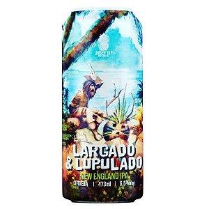 Cerveja Under Tap Largado & Lupulado New England IPA Lata - 473ml