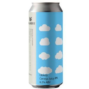 Cerveja Mill Beer Co Cloudy Juicy IPA Lata - 473ml