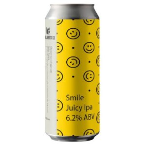 Cerveja Mill Beer Co Smile Juicy IPA Lata - 473ml