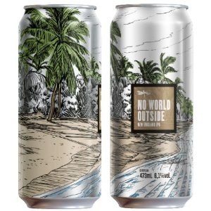 Cerveja Dádiva No World Outside New England IPA Lata - 473ml