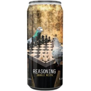 Cerveja Spartacus Reasoning Double NEIPA Lata - 473ml