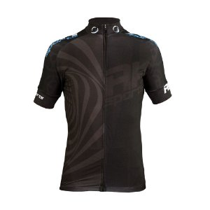 Camisa Ciclismo RH X3 Preto Manga Curta