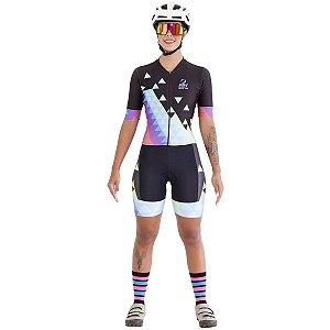 Macaquinho Ciclismo RH 05 Preto