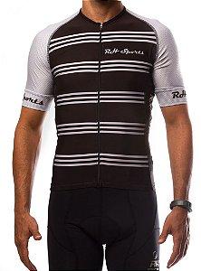 Camisa Ciclismo RH Classic Preto/Prata