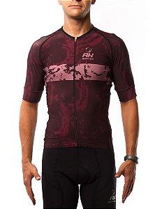 Camisa Ciclismo RH X4 Vinho