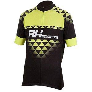 Camisa Ciclismo RH-19 Preto