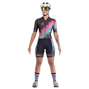 Macaquinho Ciclismo RH-23 Preto