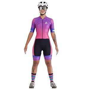 Macaquinho Ciclismo RH-32 Rosa
