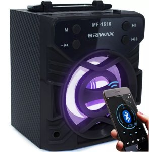 Caixa Som Bluetooth Usb Mp3 Fm Sd 300w