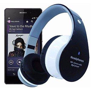 Fone Ouvido Sem Fio Favix B01 Bluetooth Fm Sd Card Fx-b01 Hi-Wi Mega Bass