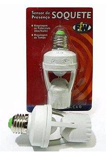 Sensor De Presença C/ Soquete E27 Foto Celula