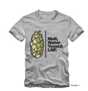 CAMISETA MALT WATER YEAST