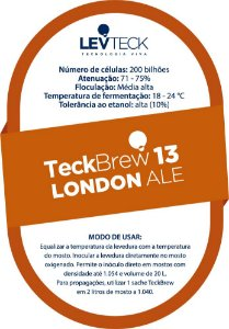 Fermento Levteck – TeckBrew 13 - London Ale