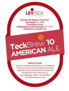 Fermento Levteck - Teckbrew 10 - American Ale