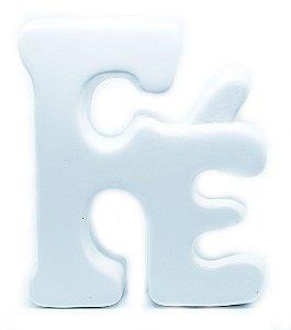 Palavra Decorativa em Cerâmica - Fé