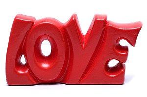 Palavra Decorativa em Cerâmica - Love G
