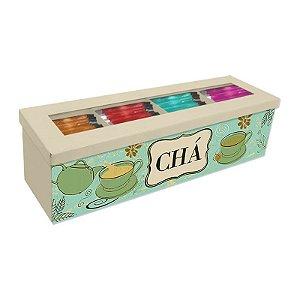 Caixa de Chá Verde