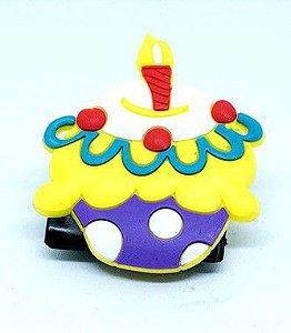 Imã de Geladeira - Cupcake de aniversário