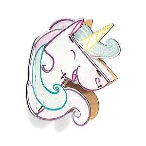 Decoração 3D Unicornio