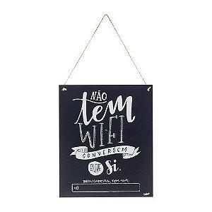 Quadro Decorativo Wifi