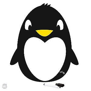 Imã Magnético Para Anotações Pinguim