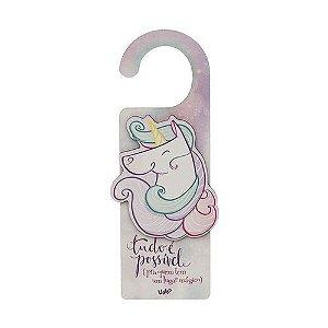 Aviso de Porta Unicornio