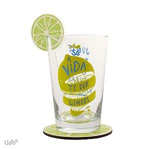 Copo Drink Se a Vida te der Limões
