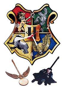 Relógio de Parede Harry Potter