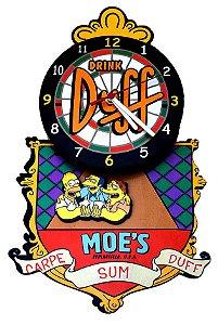 Relógio de Parede Os Simpsons