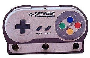 Porta Chaves Controle Super Nintendo