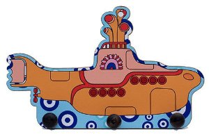 Porta Chaves Submarino Amarelo