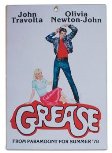 Placa Vintage Grease