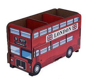 Porta Controle Londres Ônibus