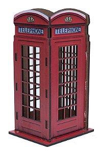 Porta Lápis Londres Cabine Telefônica