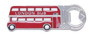 Abridor de Garrafa Londres Ônibus