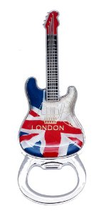 Abridor de Garrafa Londres Guitarra