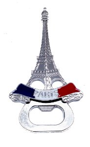 Abridor de Garrafa Paris Torre Elfel