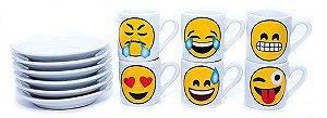 Jogo de Café Emoji