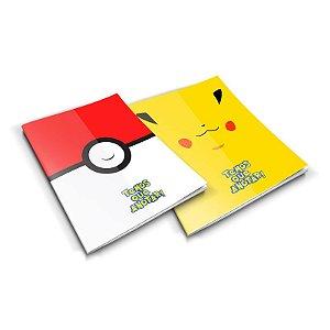 Bloco de Anotações Pokemon