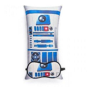 Almofada e tapa olho Star Wars R2D2